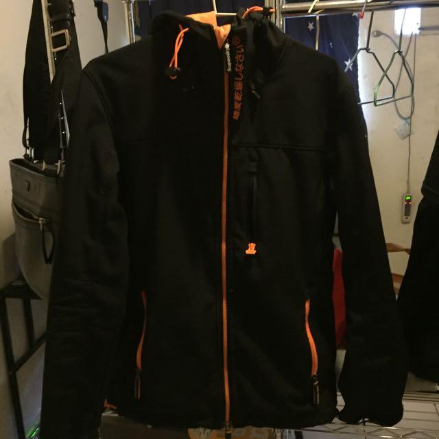 極度乾燥 太空棉外套 橘色