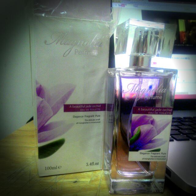 Magnolia 花香 香水  可換物