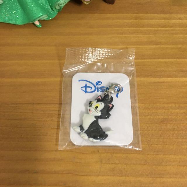 迪士尼 小木偶 貓 吊飾