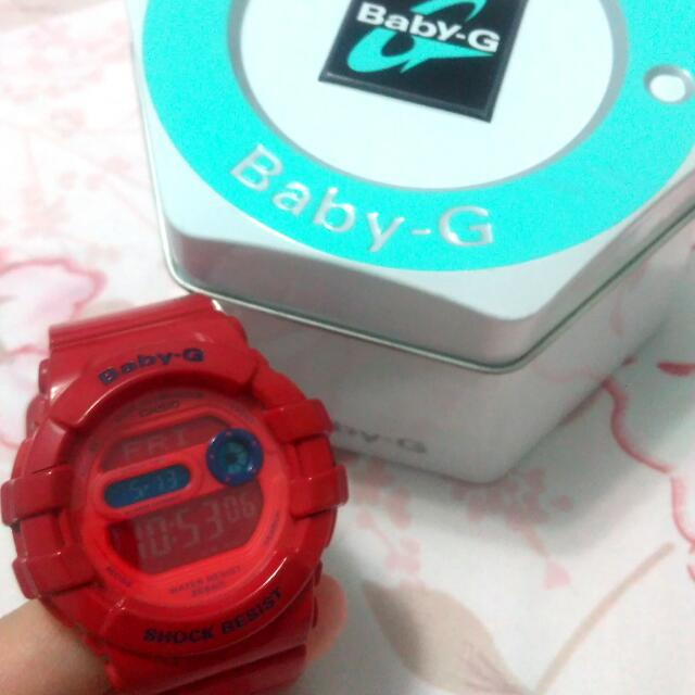正版少時代言 Baby- G 手錶