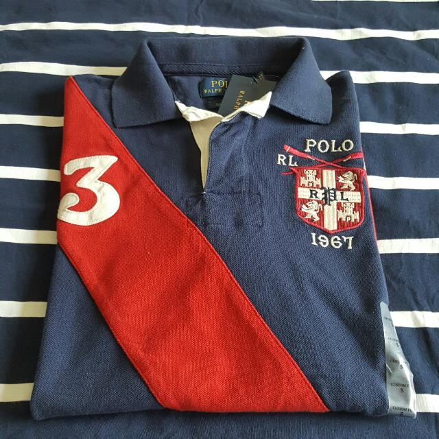 特價 POLO RALPH LAUREN polo衫 custom fit PRL CULB 皇家 數字