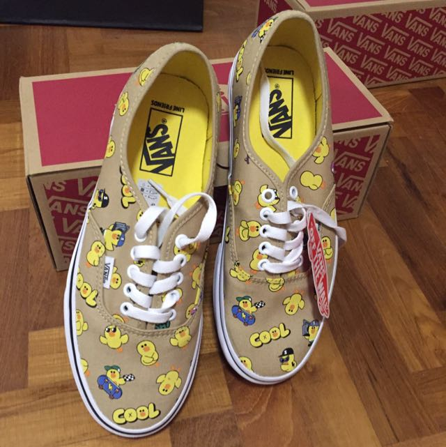 790f8e3d03 Authentic Line Friends X Vans (Sally)