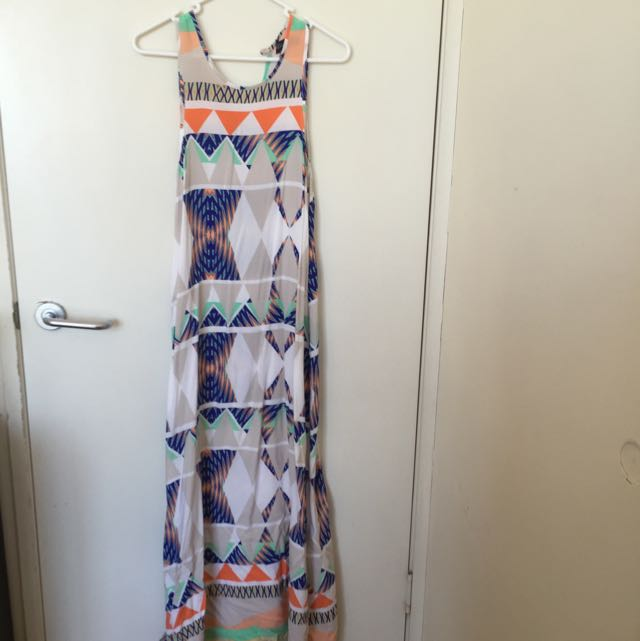 Aztec Inspired Maxi Dress