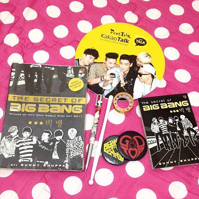 BIGBANG biography book (the Secret Of Bigbang) *Free Merchandises*