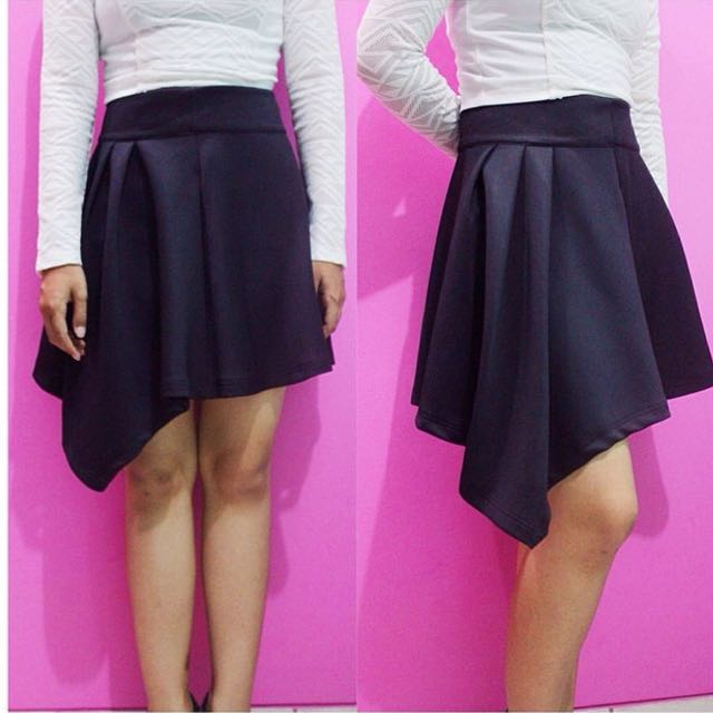Colorbox Asymmetric Skirt