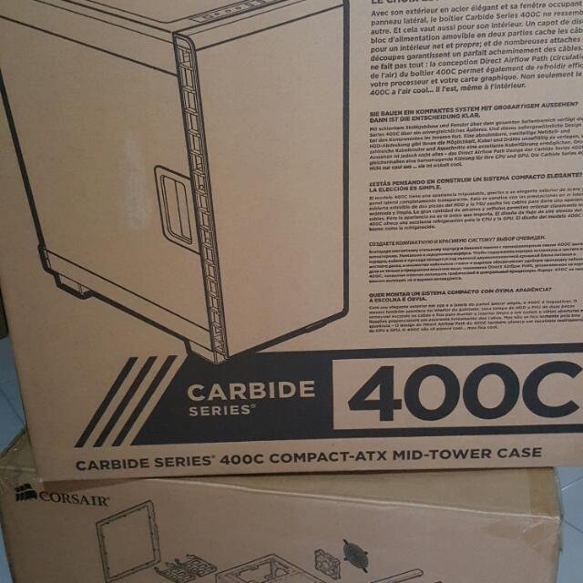 Corsair 400C Mid Tower Casing