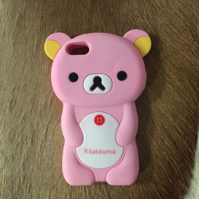 Cute Rubber iPhone 5S Case