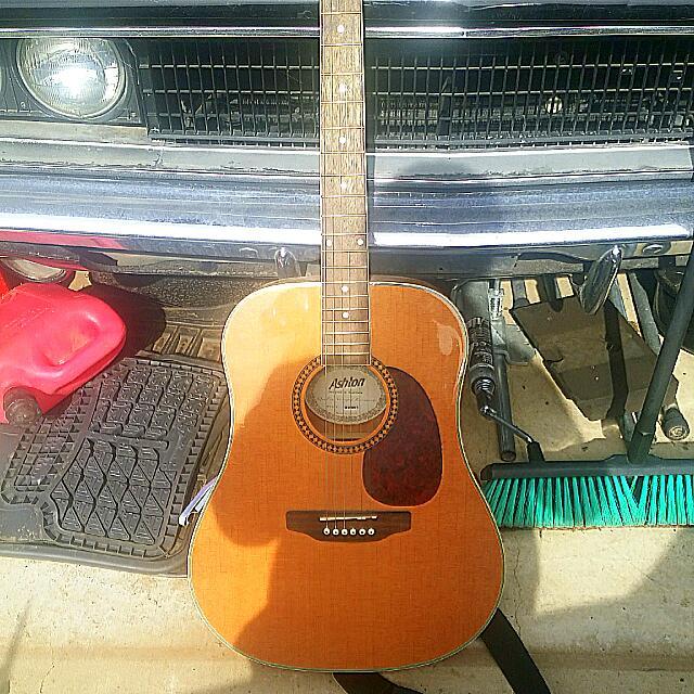 D25NT Ashton Steel String Acoustic Guitar