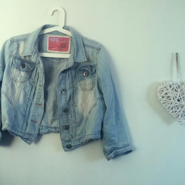 Denim Jacket. Size 12