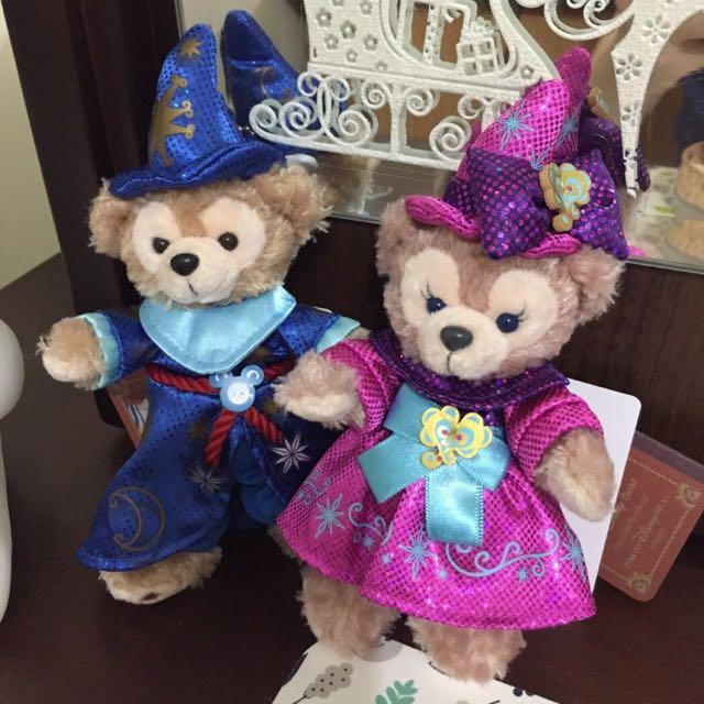 日本東京迪士尼Disney購入 達菲Duffy 雪莉梅ShellieMay 週年紀念限量款 魔法師 站姿款 現貨