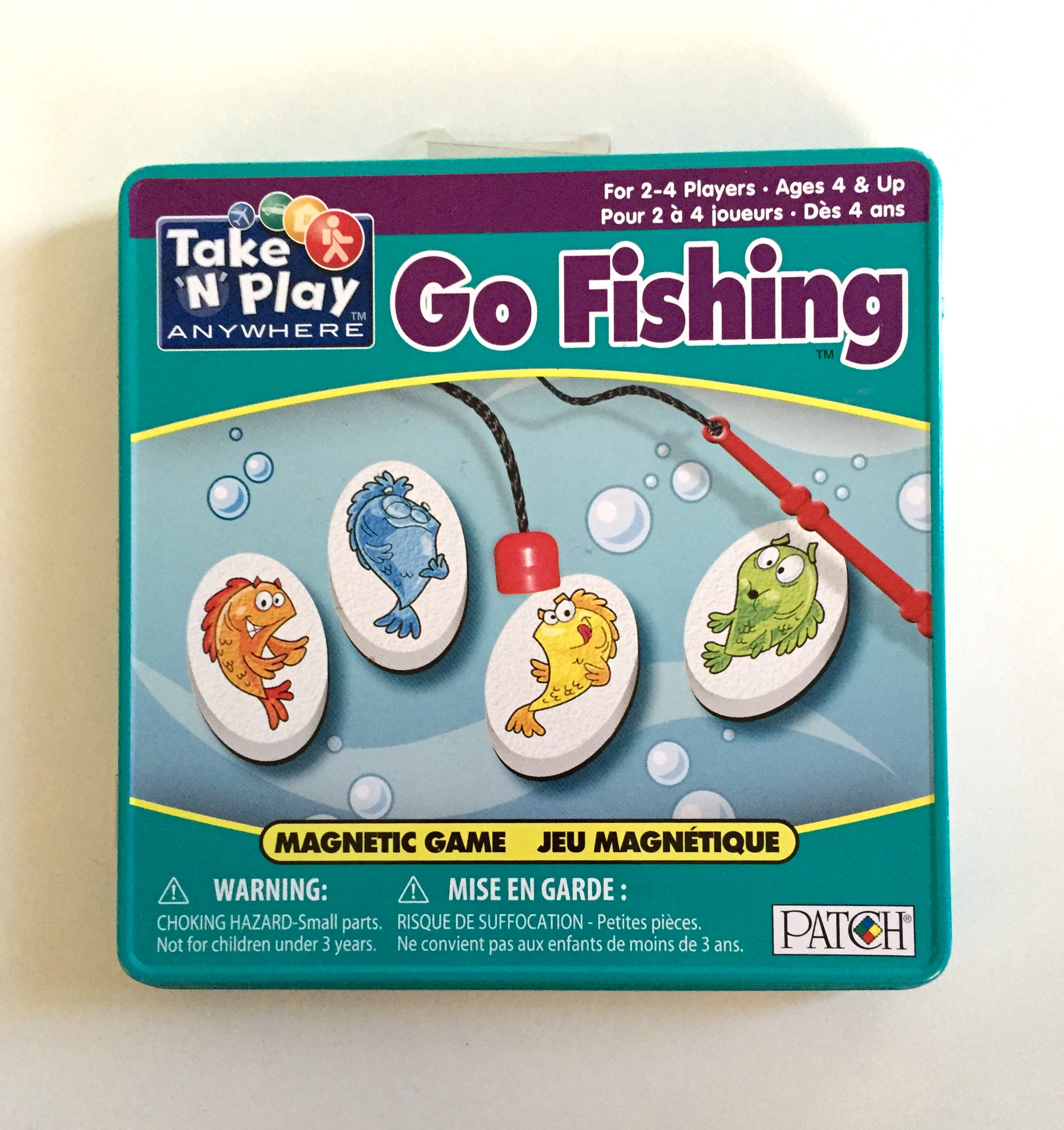 EXCELLENT CONDITION! MAGNETIC TRAVEL GO-FISH - ORIGINALLY $12.95