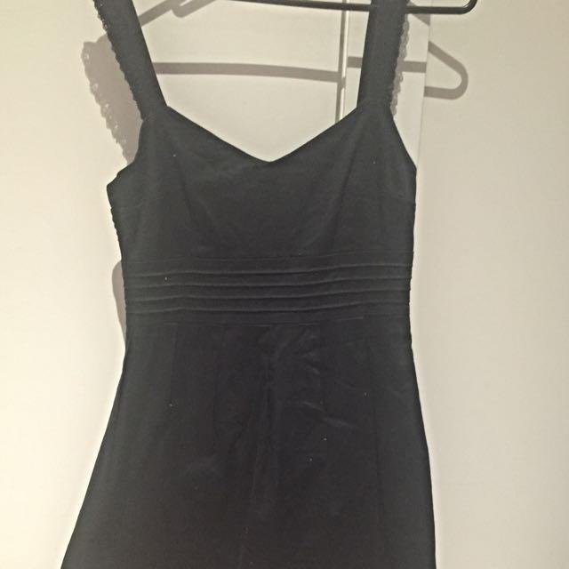 Forever New Black Dress Sz12