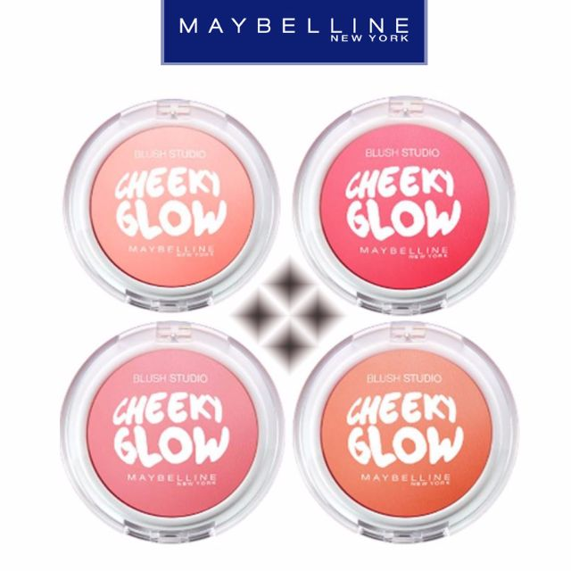 [FREE SHIPPING] Maybelline Cheeky Glow Blush, Health & Beauty on Carousell