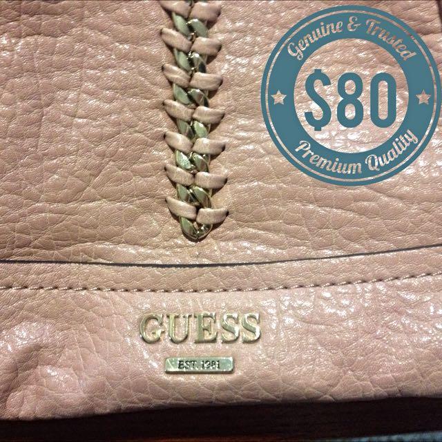 Pending: Guess Handbag Pale Pink