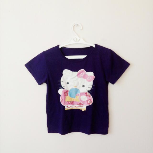 Hello Kitty Purple Top
