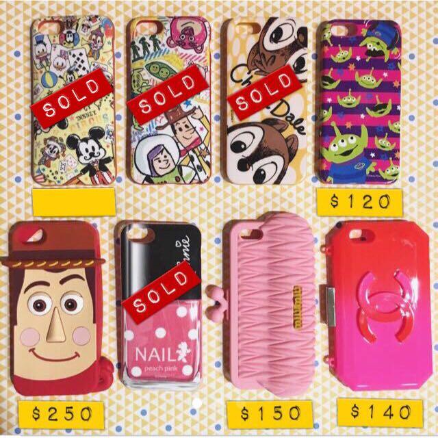 iPhone 5/5s 手機殼 保護殼 二手 迪士尼 胡迪 玩總 三眼怪