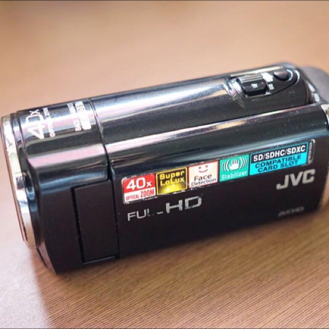 JVC Camcorder - HD Everio GZ-E10