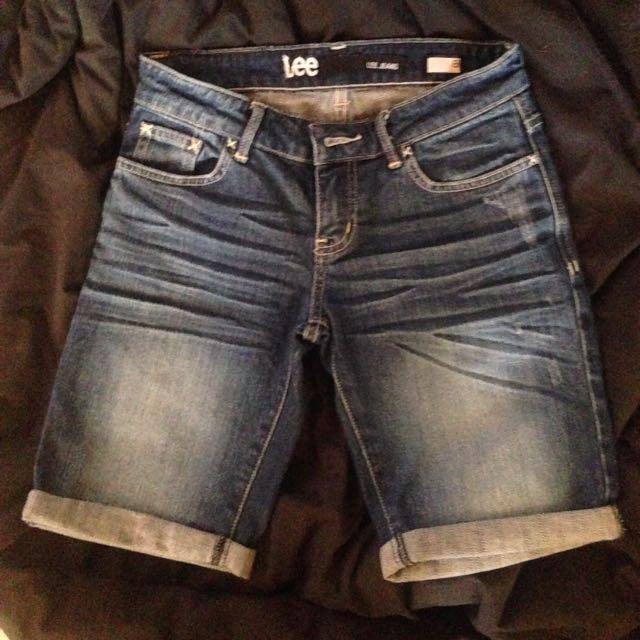 Lee Denim Shorts 8