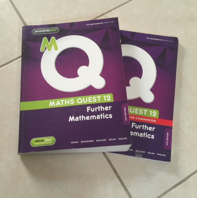 Math quest Further Mathematics Year 12