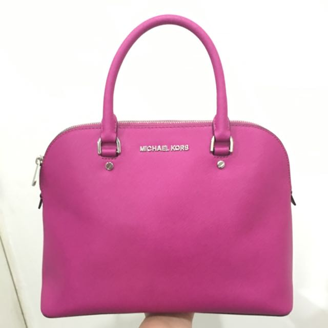 Michael Kors Cindy Medium pink (fuschia)