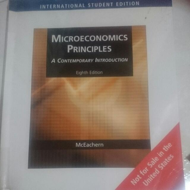 Microeconomics Principles (MIEC) Textbook