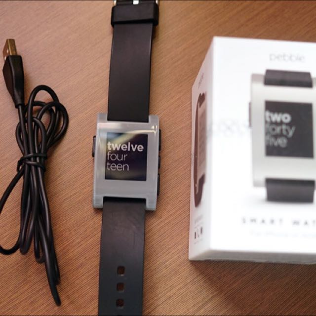 Peble Smart Watch First Edition - Grey