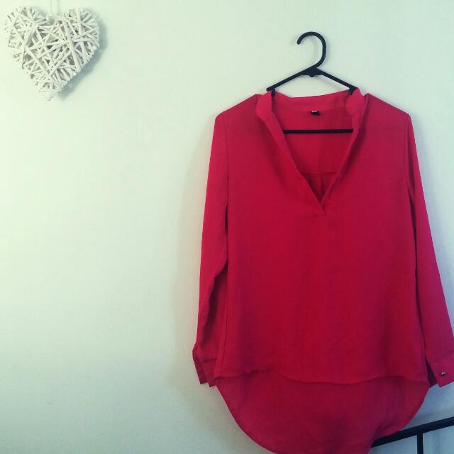 Pink Top. Size 10