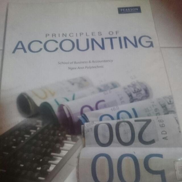 Principles Of Accounting (Ngee Ann Poly School Of BA) Textbook