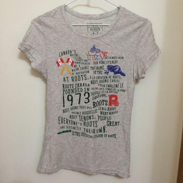 ROOTS 上衣 T-shirt