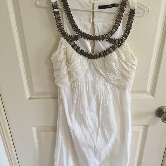 Seduce White Dress