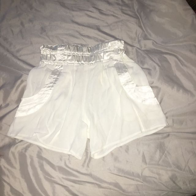 Seed White Shorts