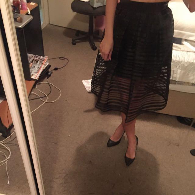 Small Mid Length Skirt