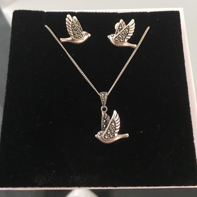 Swarovski Jewellery Set> Check My Other Items!