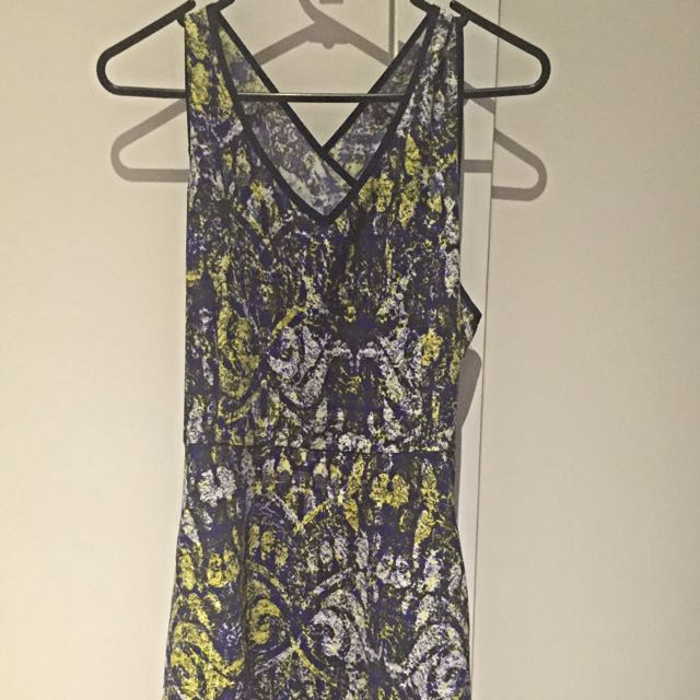 Temt Digital Style Print Dress Sz12