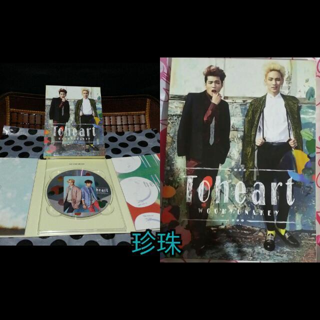 Toheart & SUPER JUNIOR專輯