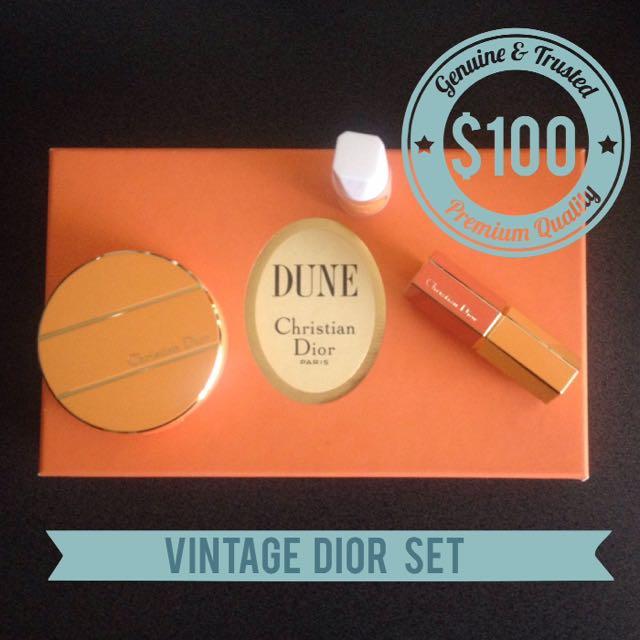 Vintage Christian Dior Set