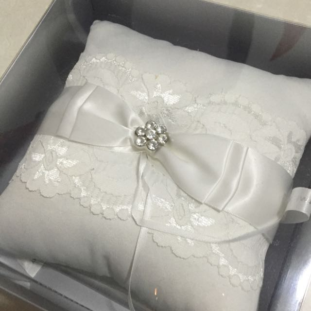 Wedding Ring Pillow Design Craft On Carousell