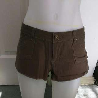 Valleygirl Khaki Shorts