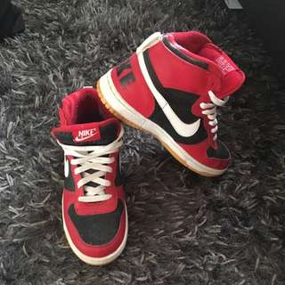 Red Nike Dunks - 7