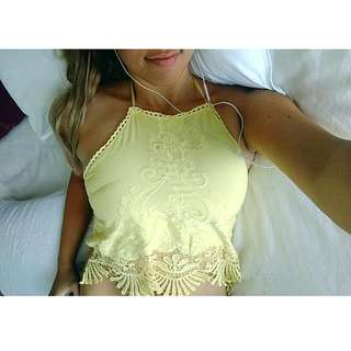 Yellow string Crop
