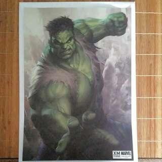 Hulk Art Print By Artgem For Xm Studios