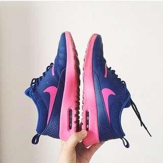 Nike Air Max Thea Fuchsia/cobalt W OG BOX