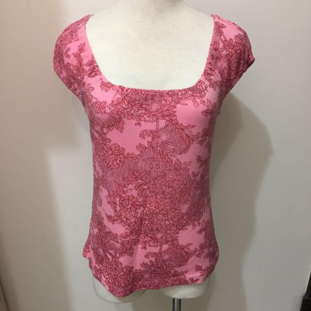 0918桃粉色上衣(含郵)