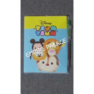 🎉AVAILABLE NOW TSUM TSUM Mickey w Friends Notebook