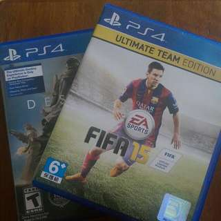 Destiny and FIFA 15 (Sony PlayStation 4 | Pre-Owned)