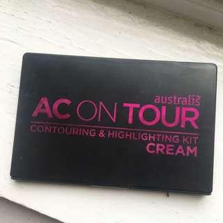 Australis AC ON TOUR Contour + Highlight Kit (CREAM)