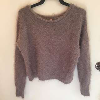 Ally Fluffy Sweater S/M