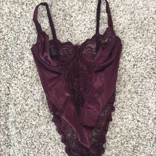 Sexy Lace And Satin Lingerie