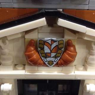 Lego 10224 Townhall Crest