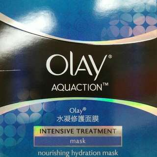 Olay Aquaction Intensive Treatment Masks (5 Pieces)